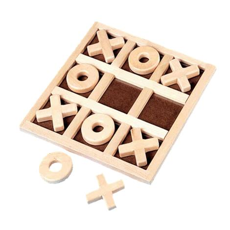 Giant Tic-Tac-Toe Puzzle