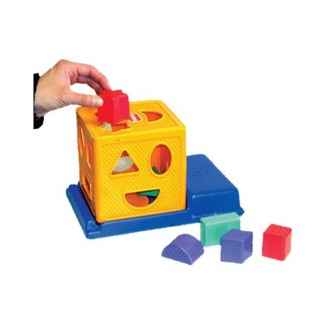 Talking Square Containerizing Toy