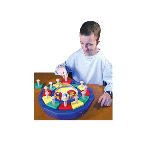 Kaleido-dome with Shapes Sensory Toy