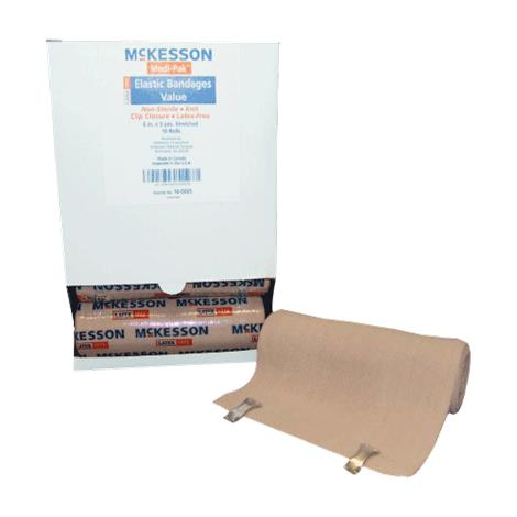 McKesson Medi-Pak Elastic Knit Bandages With Clip Closure