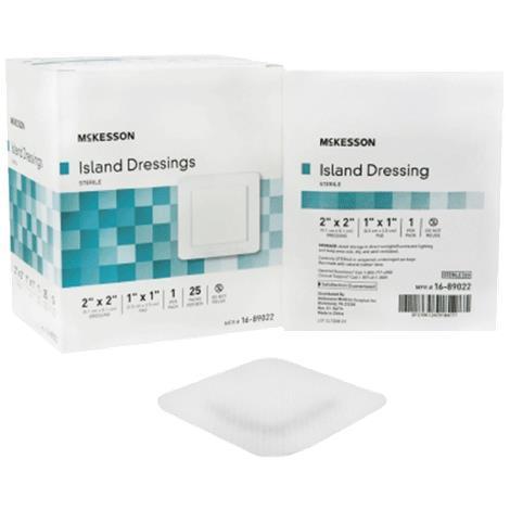 McKesson Adhesive Sterile Square Island Dressing