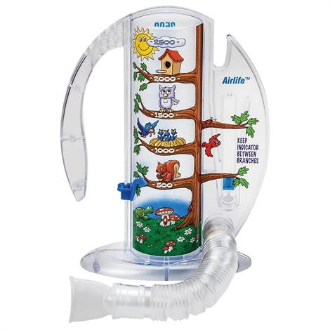 CareFusion AirLife Volumetric Incentive Spirometer With One-Way Valve