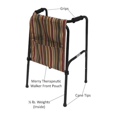 Merry Therapeutic Standard Pick-Up Walker Replacement Accessories