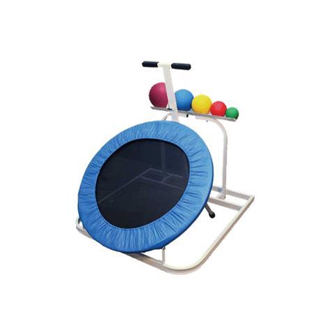 Ideal Plyometric Standard Adjustable Round Rebounder Package