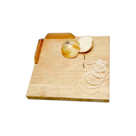 One-Handed Deluxe Maple Cutting Board