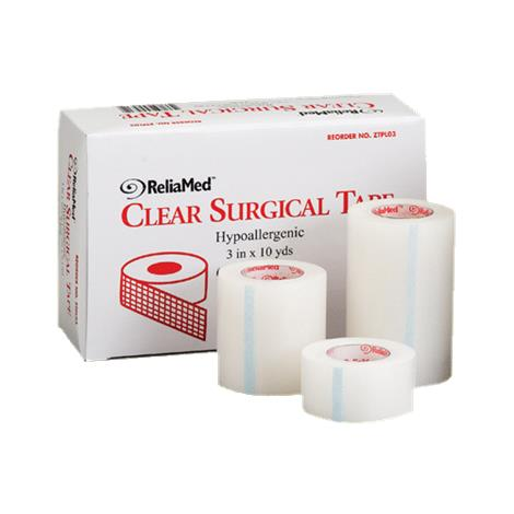 ReliaMed Hypoallergenic Clear Surgical Tape