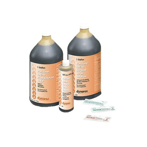 Dynarex Povidone Iodine Scrub Solution
