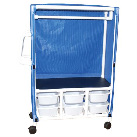 MJM International One Shelf Combo Cart