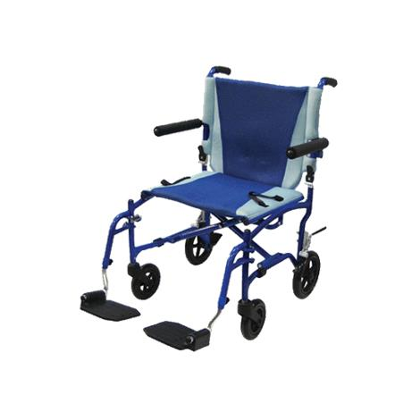 Drive TranSport 19 Inches Aluminum Transport Chair