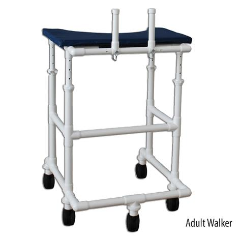 MJM International Platform Walker with Adjustable Height