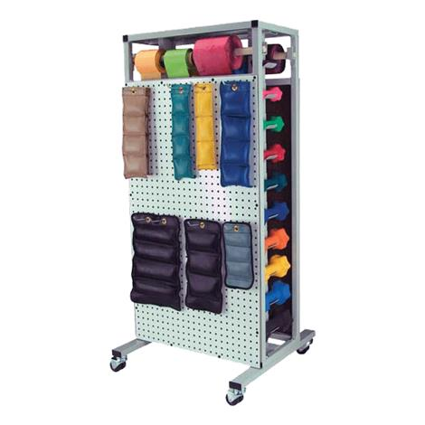 Ideal Combo Double Sided Mobile Weight Storage Rack