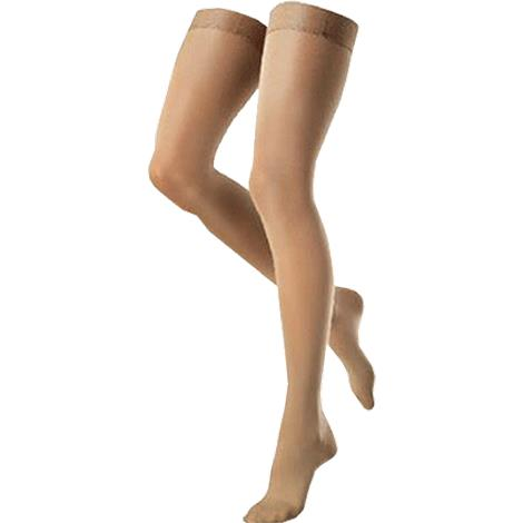 Venosan VenoSoft Closed Toe Thigh Length 20-30mmHg Compression Stockings With Silicone Top