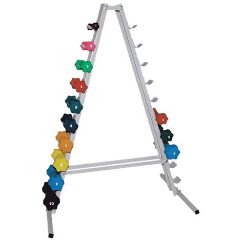 Buy Ideal Pyramid Shape Dumbbell Storage Rack
