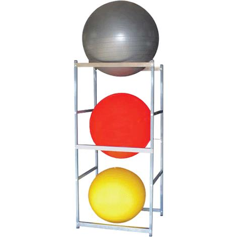 Ideal Therapy Ball Storage Vertical Floor Stand For Three Balls
