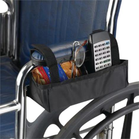 Sammons Preston Wheelchair Armrest Nylon Pocket Bag