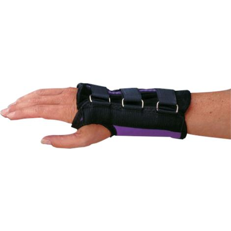 Rolyan Purple D-Ring Wrist Brace