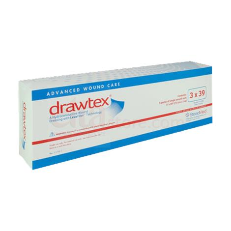Elta Drawtex Hydroconductive Wound Dressing Rolls with Levafiber
