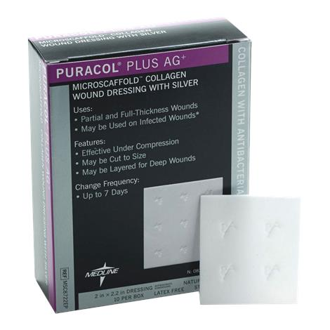 Buy Medline Puracol Plus AG Collagen Dressing with Antimicrobial Silver