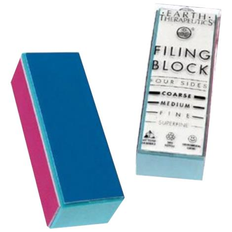Earth Therapeutics Hand Therapy Four Sided Filing Block