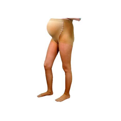 Venosan Legline Closed Toe 15-20mmHg Plus Size Super Sheer Maternity Pantyhose