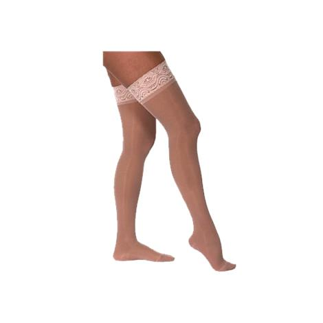 Venosan Legline 20-30mmHg Thigh Length Sheer Stockings With Lace Silicone Top for Women