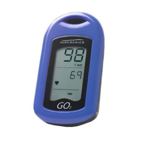 Respironics GO2 Finger Pulse Oximeter