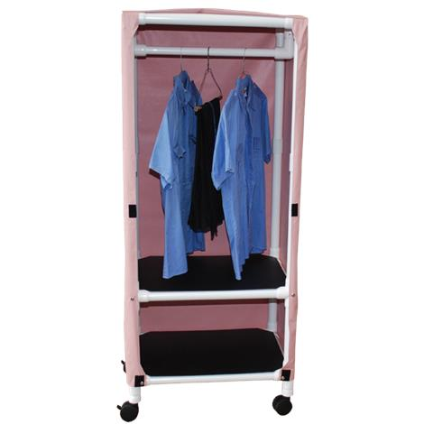 MJM International Two Shelf Tall Hanging Universal Cart