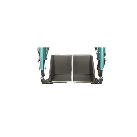 Therafin Padded ABS Split Footbox for Wheelchair