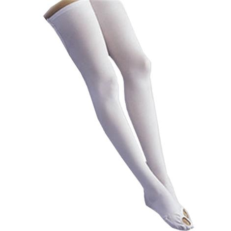 FLA Orthopedics Activa Anti-Embolism Thigh High 18mmHg Stockings With Inspection Toe