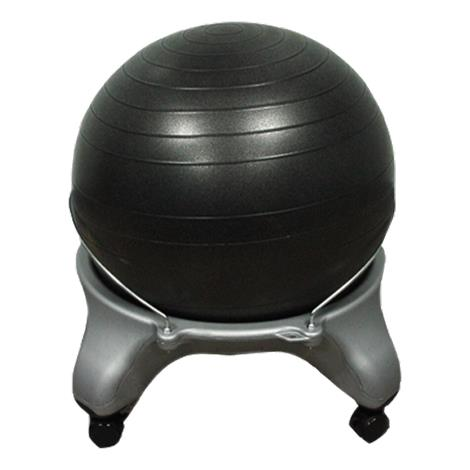 CanDo Plastic Exercise Ball Stool