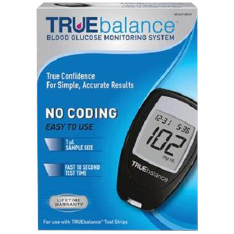 Nipro Diagnostics TRUEbalance Glucose Meter Starter Kit