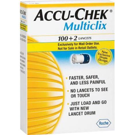 Roche Accu-Chek Multiclix Lancet Drum