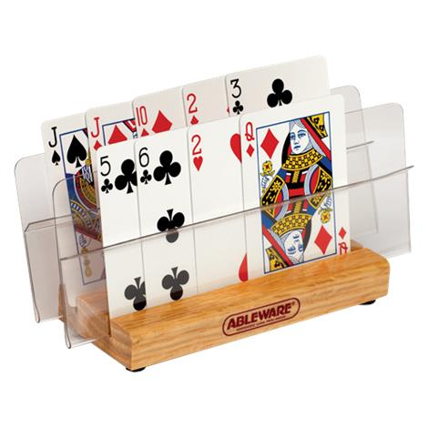 Maddak Playing Card Holder With Two Tiers