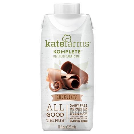 Kate Farms Komplete Meal Replacement Chocolate Shake