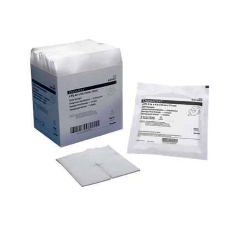Covidien Dermacea IV 2s Sterile Drain Sponge