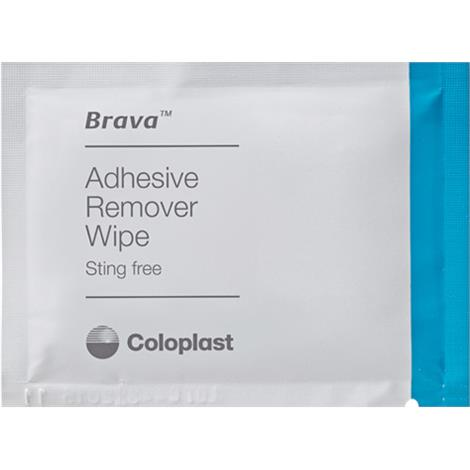Coloplast Brava Adhesive Remover Wipes