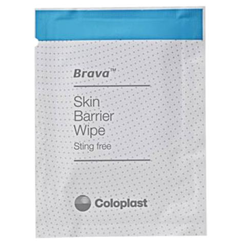Coloplast Brava Ostomy Care Skin Barrier Wipes