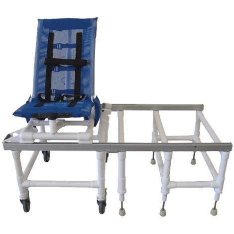 MJM International Articulating Dual Shower Transfer Chair