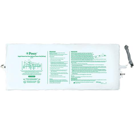 Posey 30-Day Single Patient Over-Mattress Sensor Pad