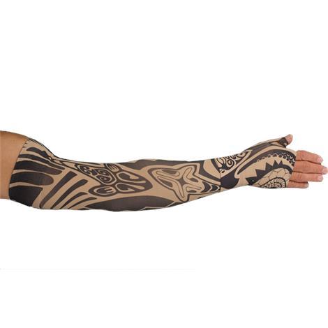 LympheDudes Fierce Beige Compression Arm Sleeve And Gauntlet