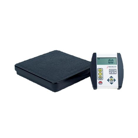 Detecto Low-Profile Portable Physician Floor Scale