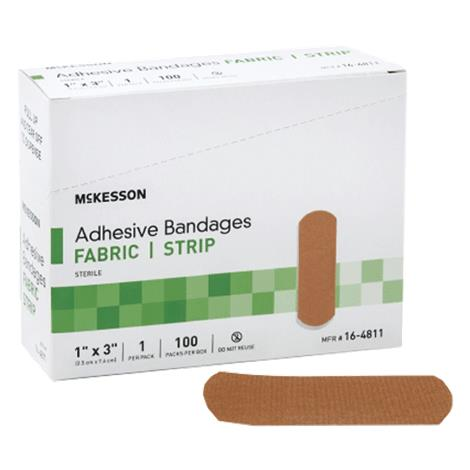 McKesson Sheer Patch Fabric Adhesive Bandages