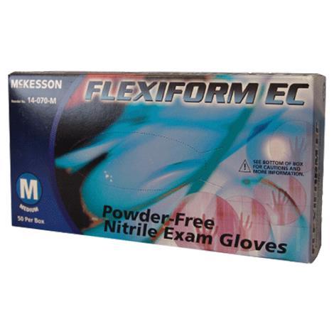McKesson Flexiform EC Powder Free Nitrile Exam Gloves