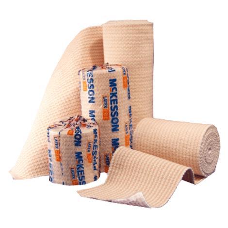 McKesson Medi-Pak Elastic Knit Bandages With Hook and Loop Closure