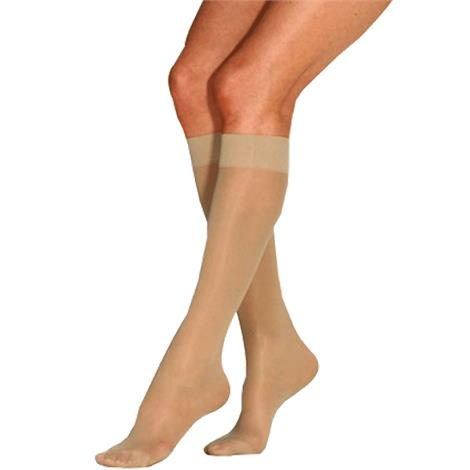 BSN Jobst Womens Ultrasheer Supportwear Knee High 8-15 mmHg Mild Compression Stockings