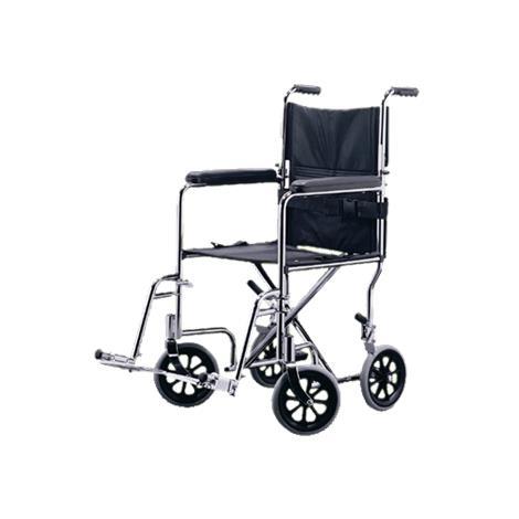 Medline Excel Steel Transport Wheelchair