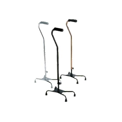 Medline Large Base Aluminum Quad Cane