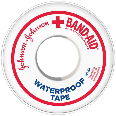 Johnson & Johnson Band-Aid Waterproof Adhesive Tape