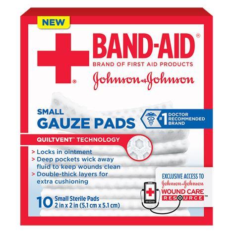 Johnson & Johnson Band-Aid Gauze Pads