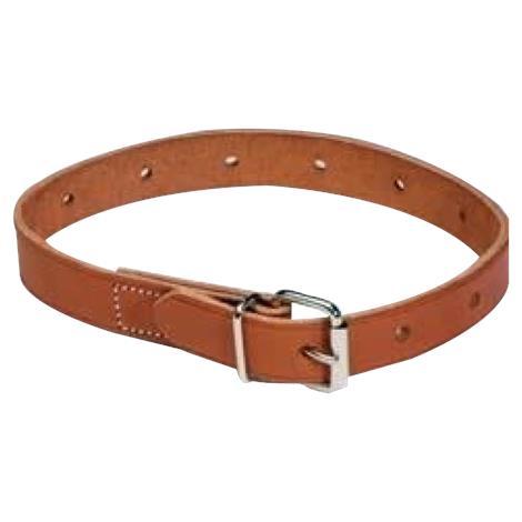 Humane Restraint Leather Non-Locking Roller Buckle Belt